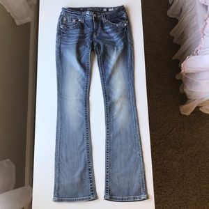 Miss Me Jeans - Miss Me Signature Boot Cut Jeans